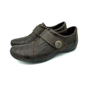 Clark's Artisan Alessandro Betty leather Booties 9
